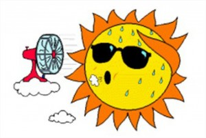 Funny-Sweating-Sun-Clipart-Image