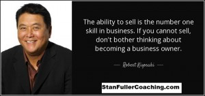 ability-to-sell-is-the-number-one-skill-in-business- R K- SFC